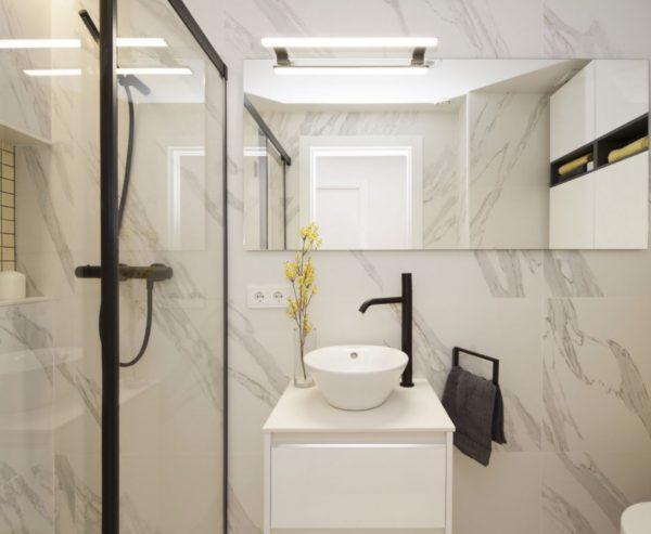 espejos para baño sin luz