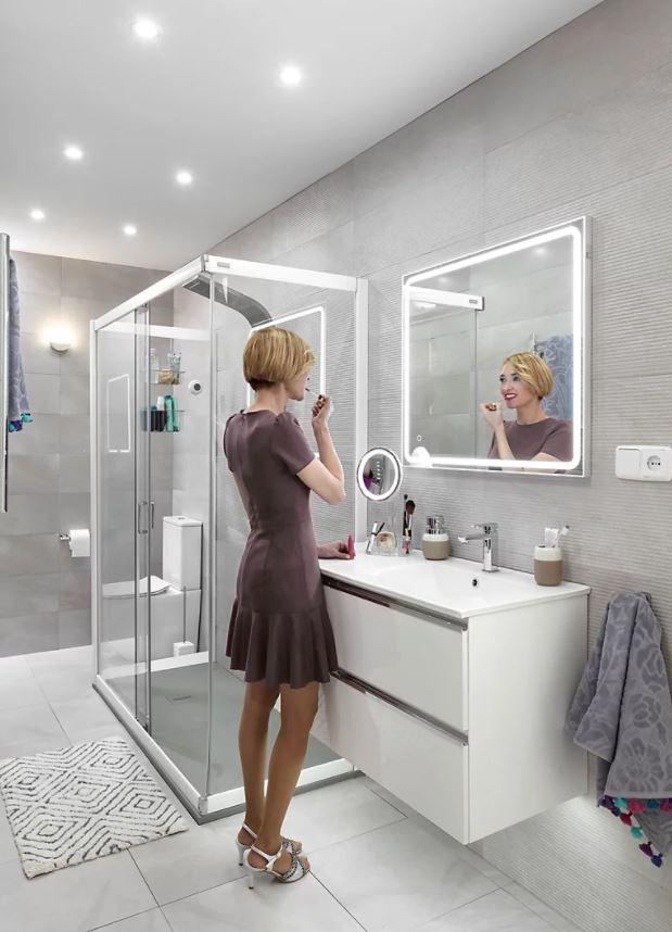 espejos retroiluminados para baños