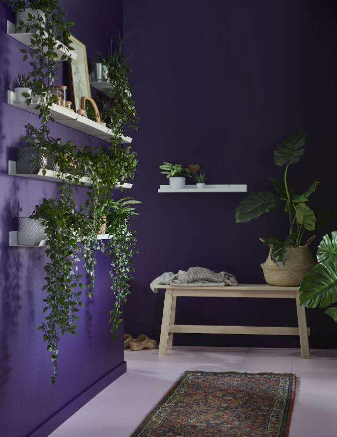 estanteria para plantas interior