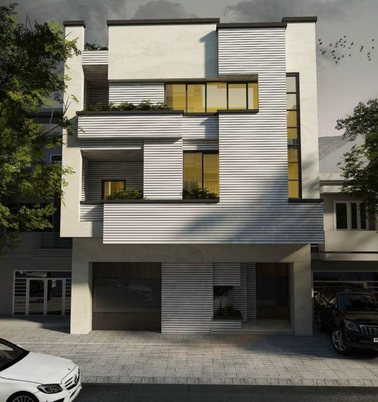 fachadas edificios modernos