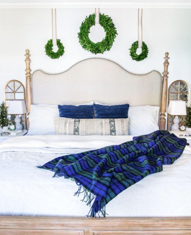 habitacion matrimonio navidad