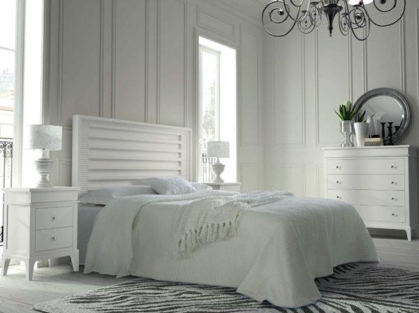 habitacion muebles blancos