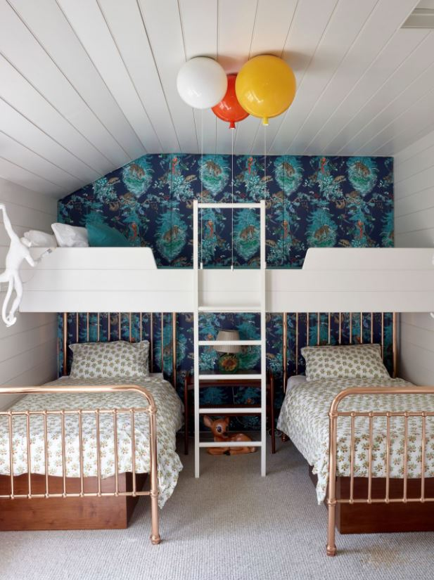 habitaciones compartidas 3 camas niños