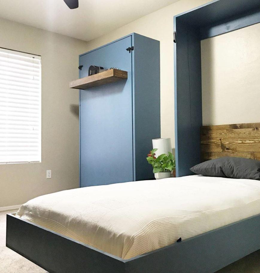 habitaciones con cama abatible