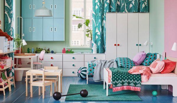 habitaciones decoradas para niños