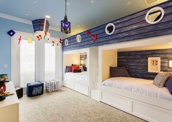habitaciones dobles infantiles