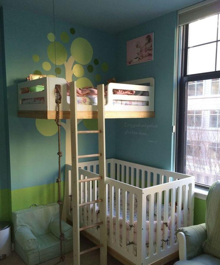 habitaciones infantiles 2 camas