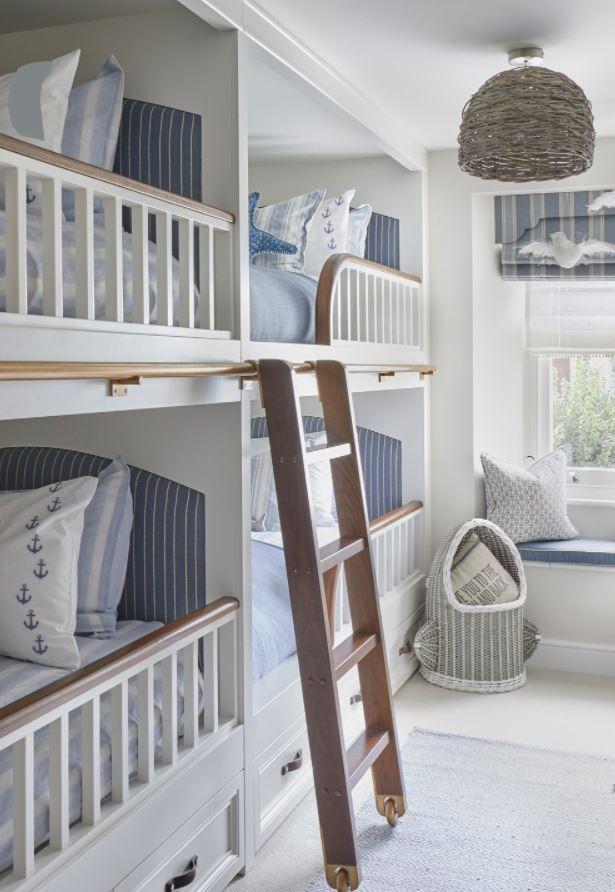 habitaciones infantiles 4 camas