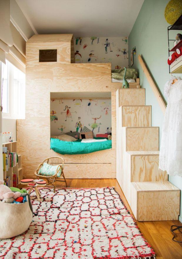 habitaciones infantiles fotos literas