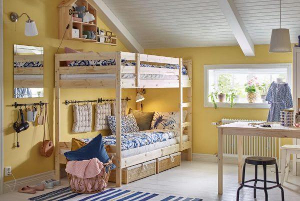 habitaciones infantiles para dos con litera