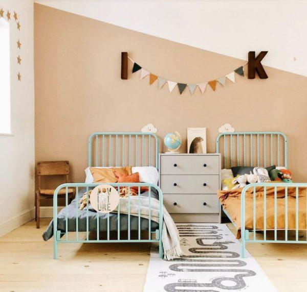 habitaciones infantiles pequeñas para dos
