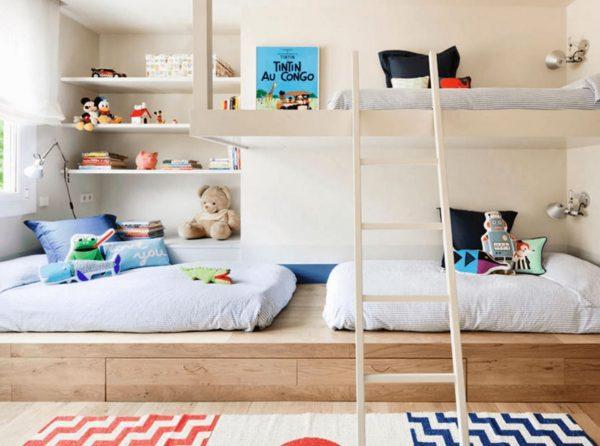 habitaciones niño y niña juntos