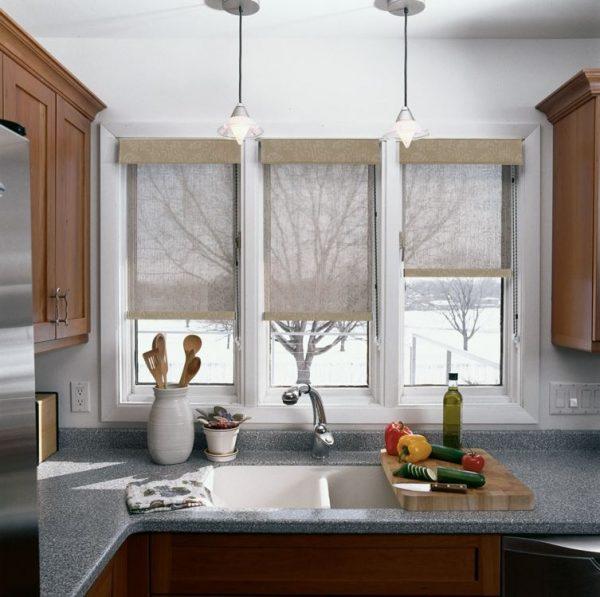 ideas cortinas estores para cocina