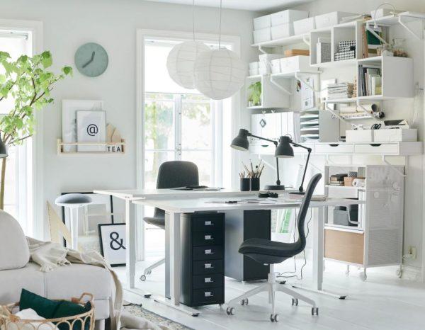 ideas despacho en casa ikea