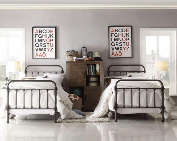 ideas para decorar habitacion doble niños