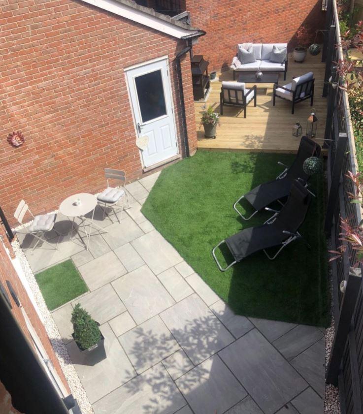 ideas para decorar jardin interior
