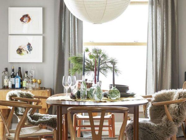 ideas para decorar mesas navideñas