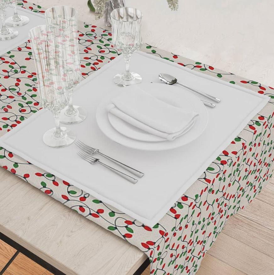 ideas para poner los cubiertos en navidad