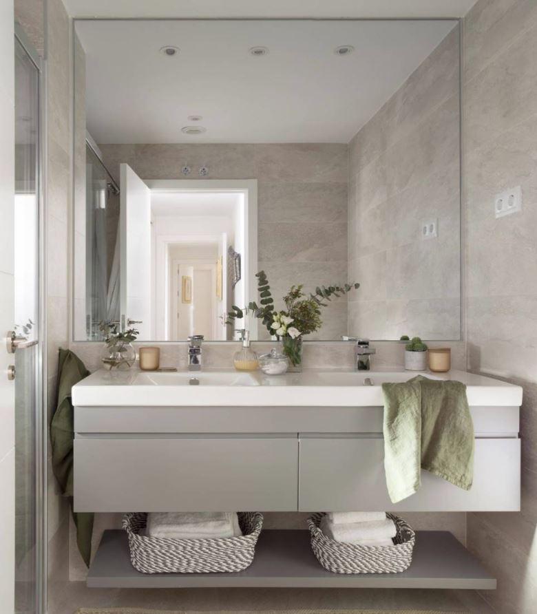 iluminación de baños con leds