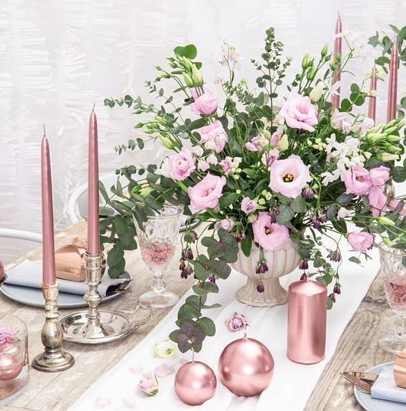 imagenes de velas de navidad decoradas