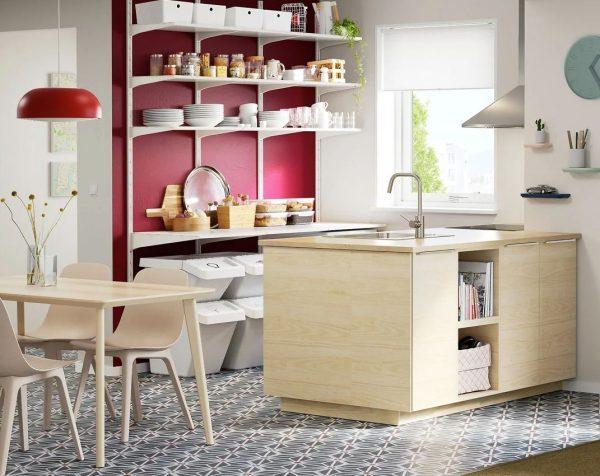 integrar salón cocina y pasillo