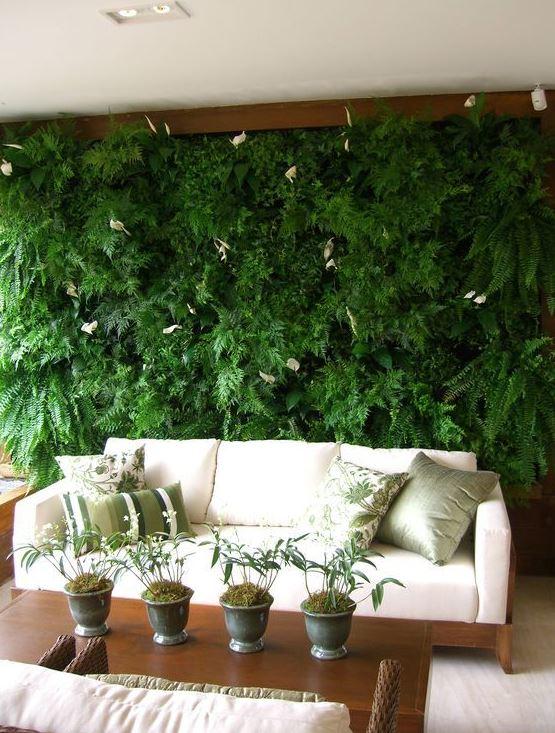 jardín vertical interior leroy merlin
