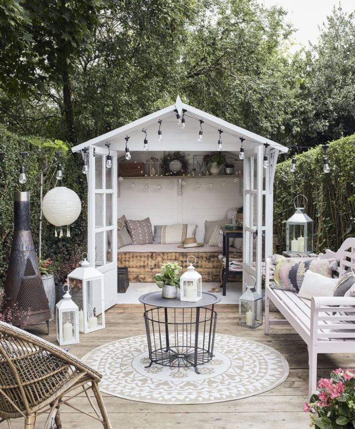 jardin chill out ideas
