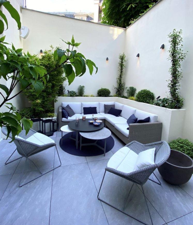 jardines bonitos y sencillos de casas