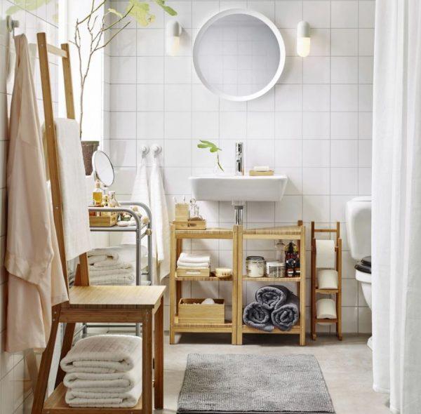 lavabo baño pequeño decoracion
