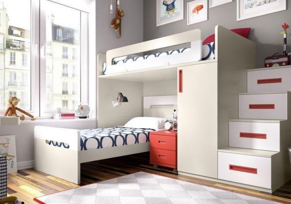 literas para habitaciones muy pequeñas