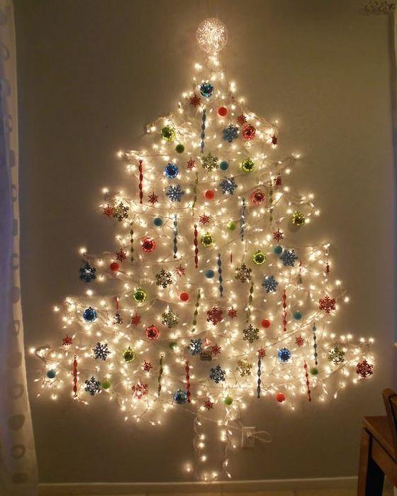 mejor arbol de navidad pared