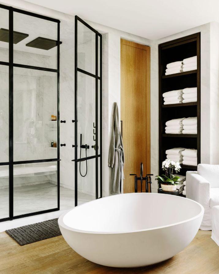 mejores baños con ducha y bañera