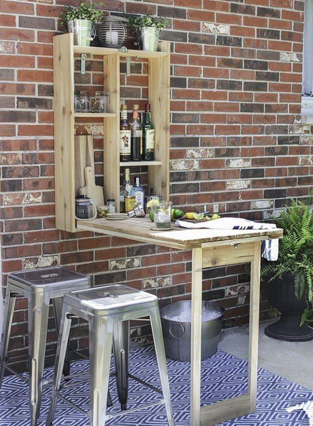 mesa barra jardin