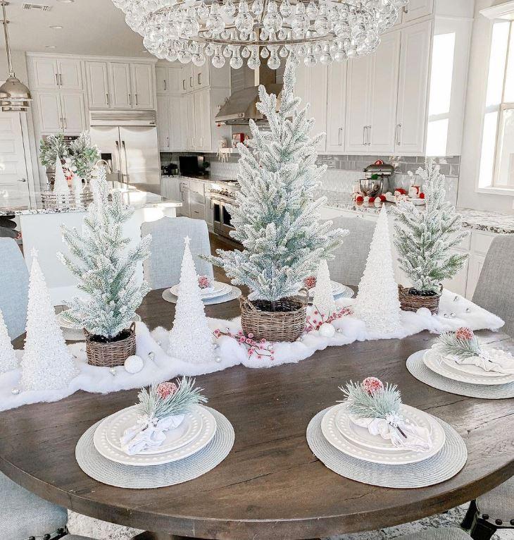 mesa navideña decoracion original