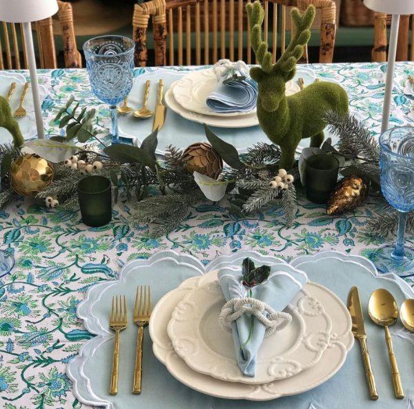 mesa original para navidad
