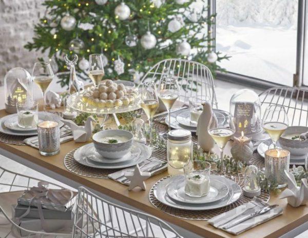 mesas de navidad elegantes faciles y baratas