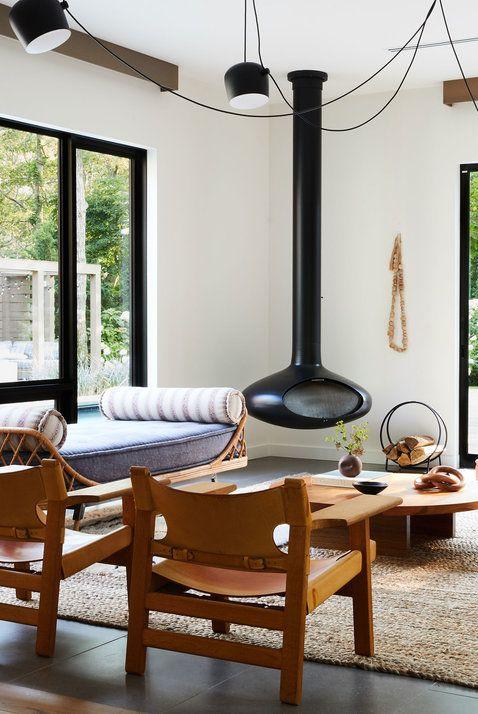 modelos de chimeneas modernas para sala