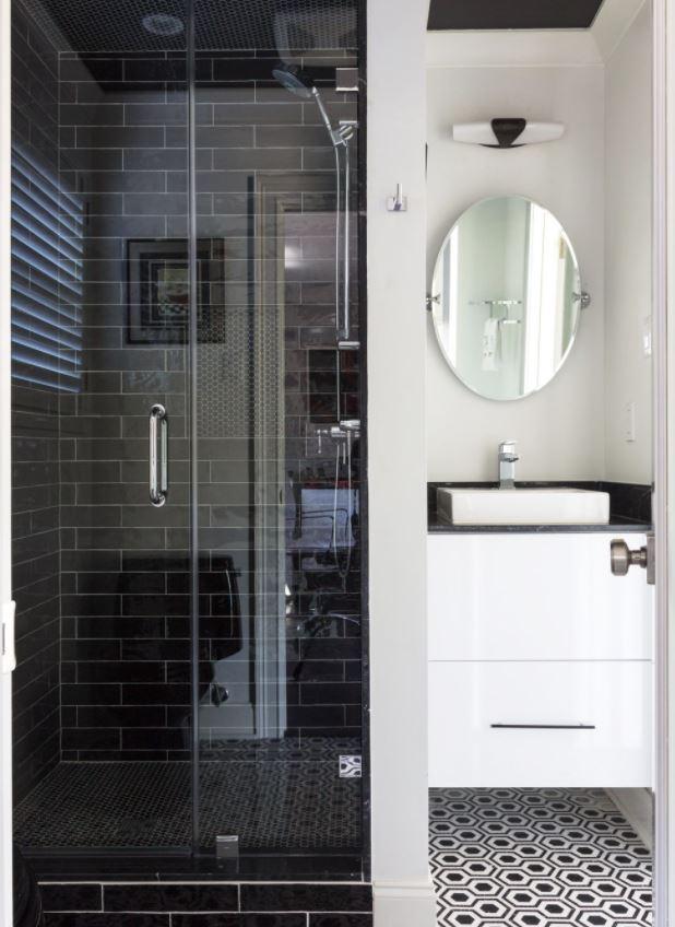 modelos de cuartos de baño con ducha