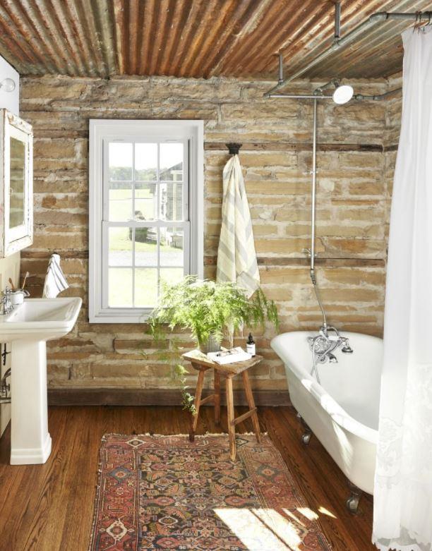 muebles baño rusticos catalogo