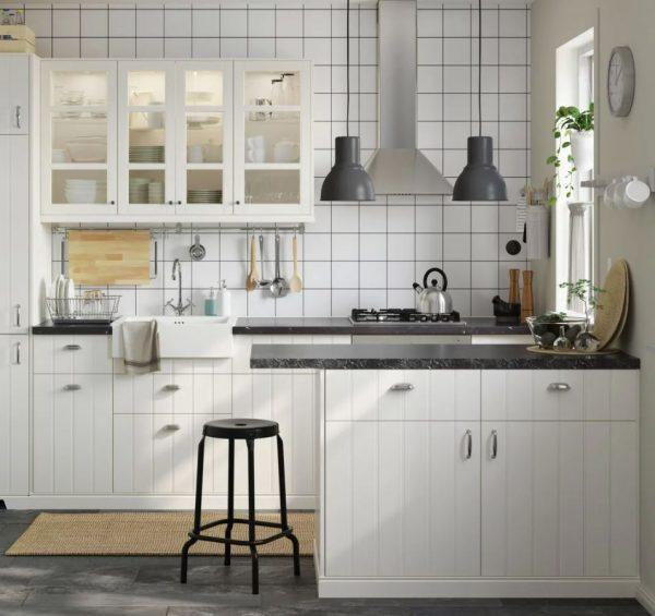 muebles cocina blancos