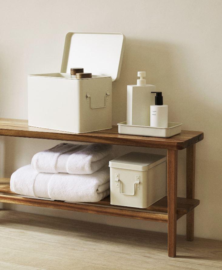 muebles de baño abiertos