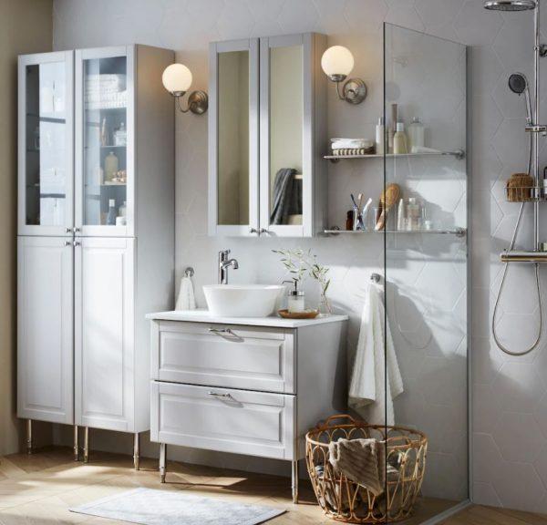 muebles de baño clasicos y rusticos