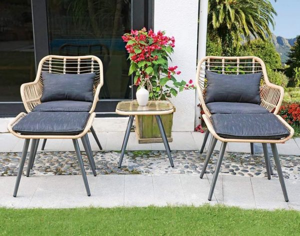 muebles para jardines exteriores