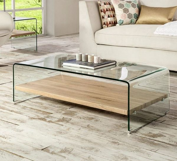 muebles transparentes para salon