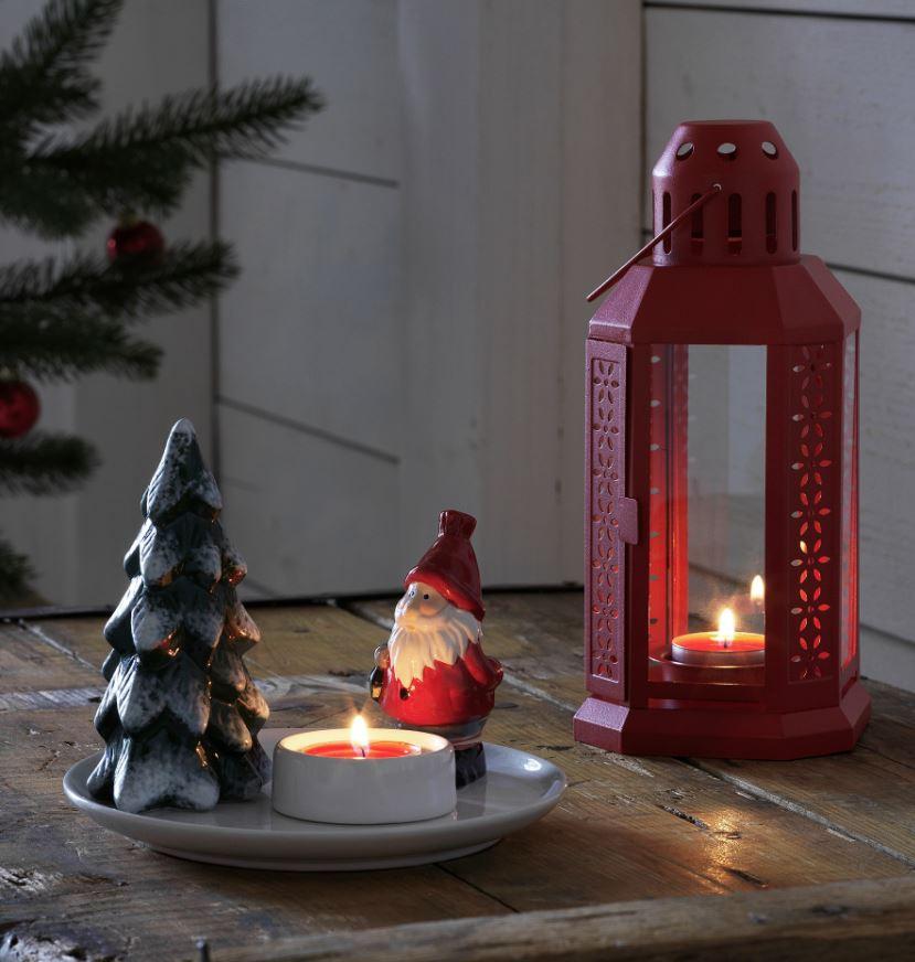 objetos decorativos navidad ikea