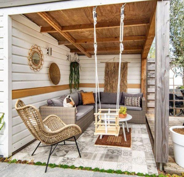 patios interiores modernos