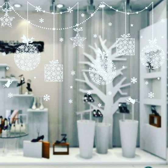pegatinas de navidad para las ventanas