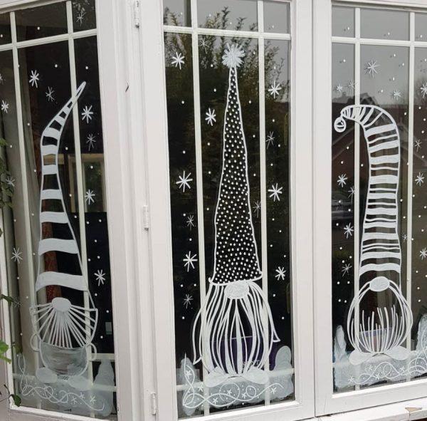 pegatinas navideñas para ventanas