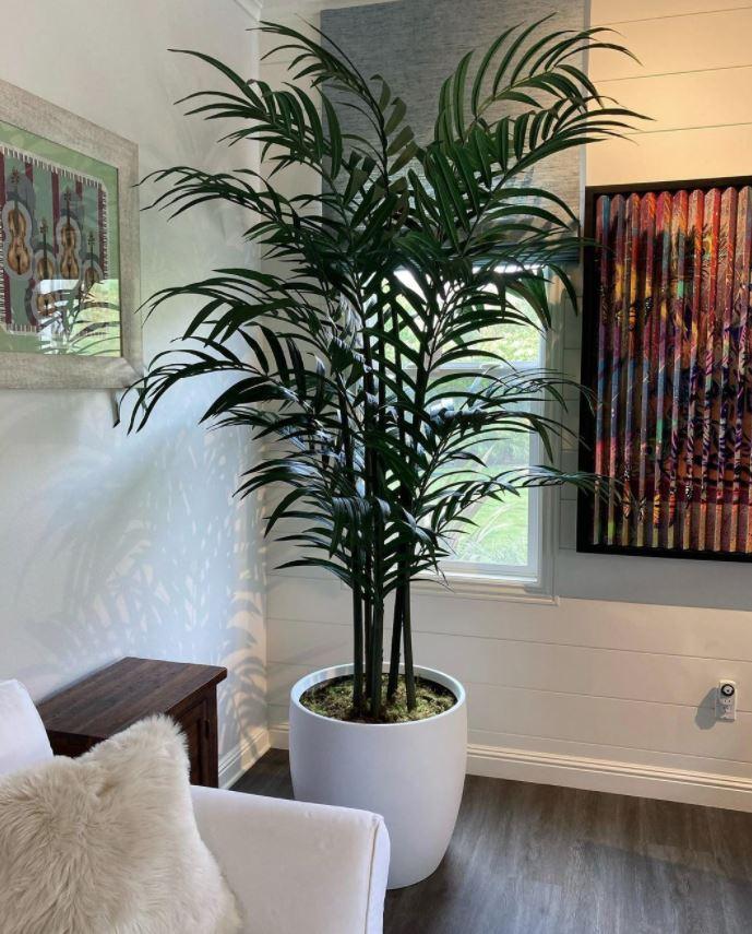 plantas artificiales realistas salon