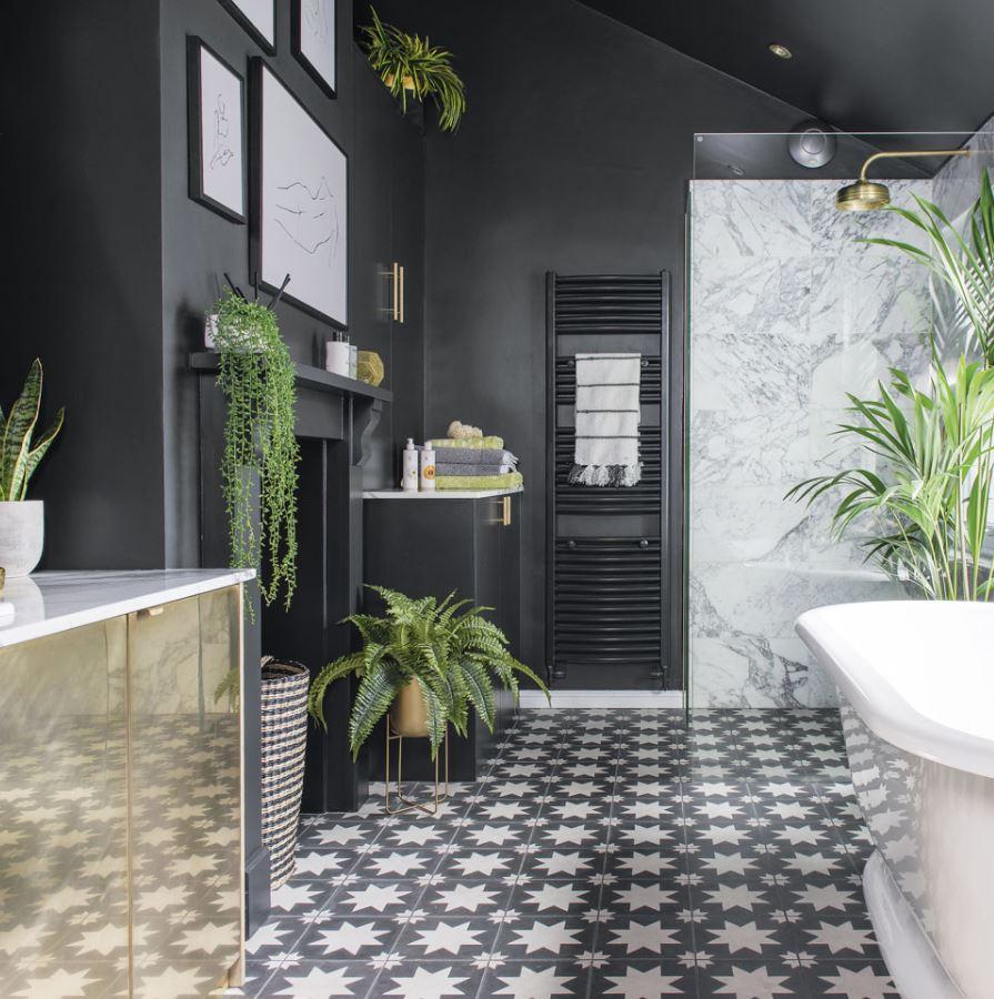 plantas para la buena suerte en el baño